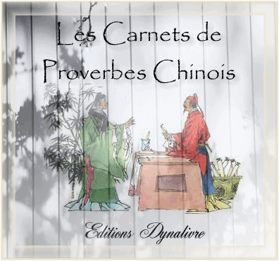 Carnets de proverbes chinois